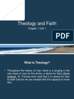 1 Theology and Faith