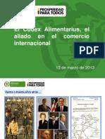 4.Codex Alimentarius ElvinRincon MINCOMERCIO