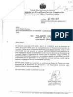 Carta Reglamento especifico de inversion publica