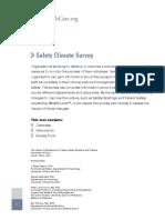 Safety Climate Survey