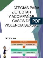 Capacitacion Rutas Violencia Sexual CA