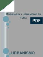 mobiliario y urbanismo en roma