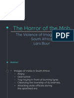 Mobs Report