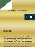 Urticaria y Angioedema