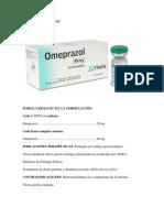 Forma Farmacéutica y Formulación