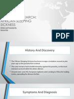 African Sleeping Sickness Data Presentation