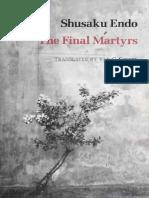 Endo, Shusaku - Final Martyrs (New Directions, 1994)