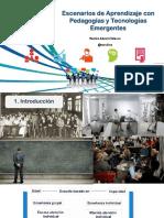 Escenarios de Aprendizaje con Pedagogías y Tecnologías Emergentes