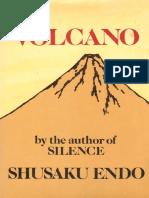 Endo, Shusaku - Volcano (Taplinger, 1980)