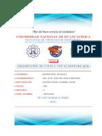 HIDROLOGIA_DELIMITACION DE CUENCAS CON QGIS EN EL EDITOR LATEX- Gabriel D. QUISPE S.