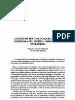 Analisis coloquiales Español 2º Lengua
