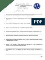 Evaluación diagnóstica Antro AD2018
