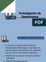 Unidad 4 - Métodos de Transporte y Asignación