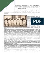 Hermanas Misioneras Dominicas Del Rosario