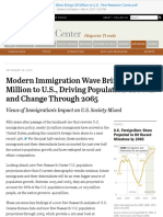 Modern Immigration Wave Brings 59 Million to U.S.