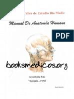 Manual de Anatomia Humana David Coba Ruiz