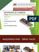 2.040 MAQUINARIA PAR LA OBRA VIALES- RENDIMIENTO DE EQUIPO.pptx