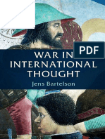 BARTELSON, Jens - War in International Thought