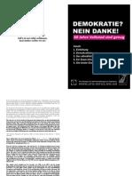 Eine Kampagne der Widerstandsbewegung in Senftenberg (Broschüre)