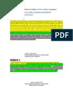 Análisis de Párrafos
