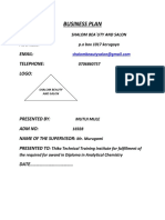dip. analytical chemistry business plan.docx