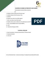 Lista de Verificacion de Cierre de Proyecto Seis Sigma