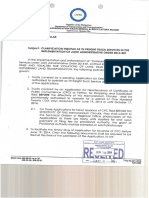 LTFRB MC No 2014-008 - Clarification of MC 2012