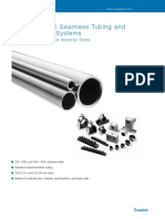 Stainless Steel Seamless Tubing and Tube Support Systems - Swagelok