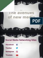 Avenues of New Media