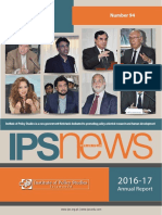 IPS Annual Report 2016-17 (IPS News No. 94)