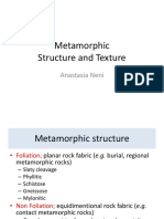 7-Metamorphic Rock-(2)Structure and Texture