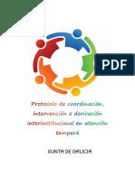 Protocolo Variables Evaluación Psicopedagógica