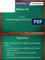 Chapter5 Implementing training programs