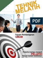 Slide Teknik Melatih Ok Edit Pro Btcls Fisioterapi