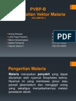 KELOMPOK 3 Ppt Pengendalian Vektor Malaria