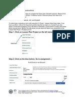 Lesson Plan Phase 1 Peer Evaluation