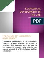 Economical Development in the UAE