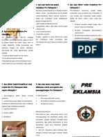 Leaflet Preeklamsia
