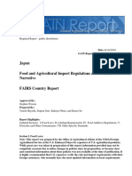 Food and Agricultural Import Regulations and Standards - Narrative_tokyo_japan_8!19!2009