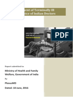 Passive Euthanasia Draft Bill - Voice of Indian Doctors