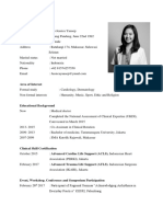 CV Dr. Jao Jessica Yausep