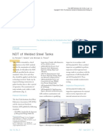 Ndt of Welded Steel Tanks