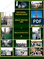 PICTORIAL TRAVELOGUE - GREAT BRITAIN - UNITED KINGDOM  - 1989