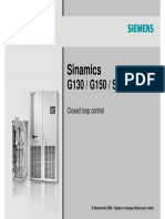 11 Cl Control - Sinamic G130/150