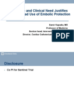 Embolic Protection During TAVR - Keystone Heart