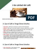 Control de Calidad Del Café