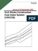 Civil Contruction Cost Index System