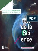 Programme Scolaires FDS 2018 Lyon Rhône