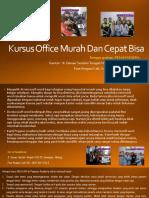 Ms Word, Jl. Danau Sentani Tengah H2B 39, Sawojajar, Malang.  Fast Respon Call/ WA