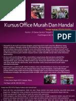 Word Office, Jl. Danau Sentani Tengah H2B 39, Sawojajar, Malang.  Fast Respon Call/ WA